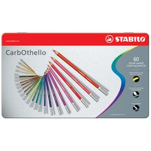 Stabilo CarbOthello Pastel Pencil Set, 60 Colors
