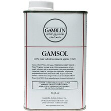 Gamblin Gamsol, 16 oz.