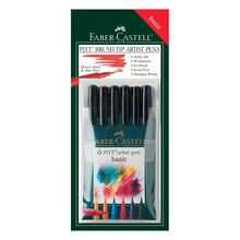 Faber-Castell PITT Artist Brush Pen Set, Basic