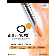 "Legion Paper, Yupo White Watercolor Pad,  9"" x 12"""