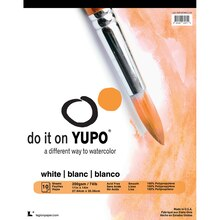 "Legion Paper Yupo White Watercolor Pad, 11"" x 14"""