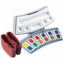 Pelikan Transparent Watercolors, 12 Pan Set