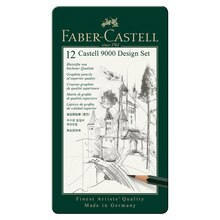 Faber-Castell 9000 Pencil Set 12 Pencil Design Set