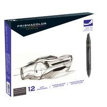Prismacolor Premier Art Marker Set, 12 Color French Grays