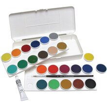 Grumbacher Transparent Watercolor Pan Set