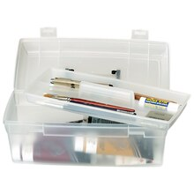 ArtBin Essentials Lift Out Tray Boxes, Clear