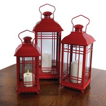 Red Lanterns, Set of 3