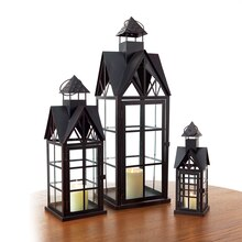 Architectural Lanterns, Set of 3