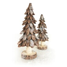 Pinecone Play Trees, Set of 2