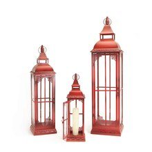 Classic Red Lantern (Set of 3)