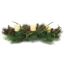 Mixed Pine & Fern Centerpiece