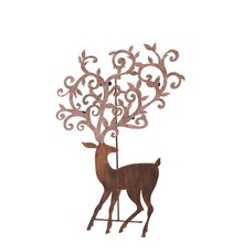 Deer Tea Light Tree, 27""