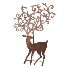 Deer Tea Light Tree, 36""