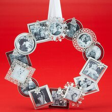 Mini Frame Ornament Wreath, medium