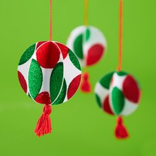 Kids' Paper Ornaments, medium