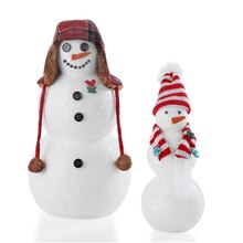 Merry Miniatures Snowman, medium