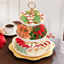 Traditional Iced Christmas Cookies, medium