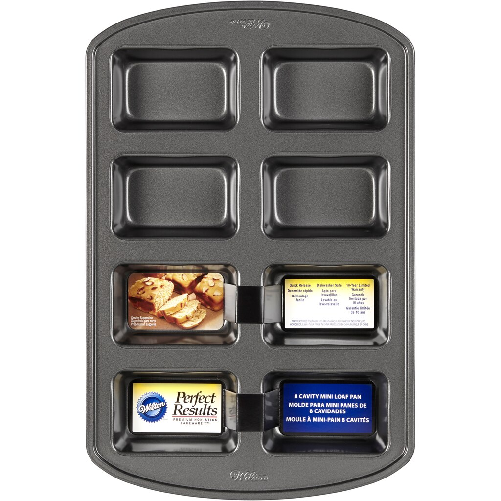 Buy The Wilton 174 Mini Loaf Pan 8 Cavity At Michaels