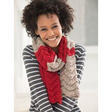 Lion Brand® Heartland® Making Waves Crochet #Scarfie, medium
