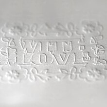 Embossed With Love Card, medium