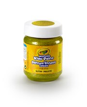 Crayola Washable Kids' Paint, Glitter Yellow Blazes