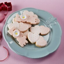 Valentine's Day Iced Sugar Cookies, medium