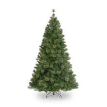 6.5 Ft. Atlanta Mixed Cashmere Pine Artificial Christmas Tree, Unlit