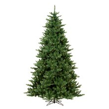 6.5 Ft. Pre-Lit Northern Dunhill Fir Full Artificial Christmas Tree, Warm Clear LED Lights