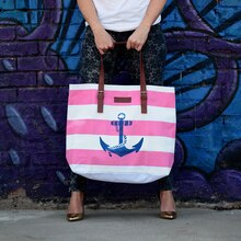 Anchors Aweigh Tote, medium