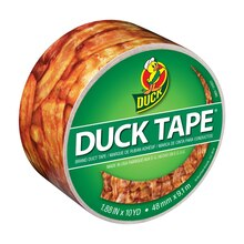 Printed Duck Tape Brand Duct Tape, Bacon