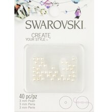 Swarovski Create Your Style Pearl Beads, 3mm