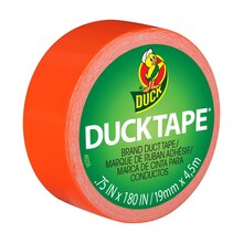 Ducklings Mini Duck Tape Brand Duct Tape, Orange