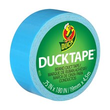 Ducklings Mini Duck Tape Brand Duct Tape, Electric Blue