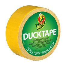 Ducklings Mini Duck Tape Brand Duct Tape, Yellow