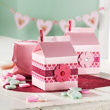 Valentine's Day Milk Carton Party Favors, medium