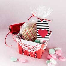 Valentine's Day Berry Basket Gift, medium