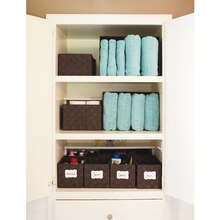 Bathroom Organization Linen Closet Storage Baskets, medium