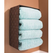 Bathroom Organization: Wall Storage Basket, medium