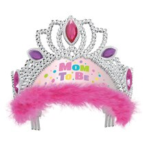 Pink Mom to Be Baby Shower Tiara