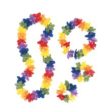 Luau Party Lei Set, 4pc