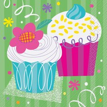 Cupcake Party Luncheon Napkins, 16ct