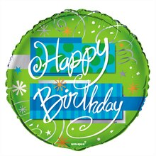 Foil Bright Birthday Balloon, 18""