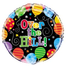 Foil Over the Hill Balloon, 18""