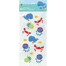Under The Sea Cellophane Bags, 20ct