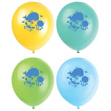 "12"" Latex Under The Sea Balloons, 8ct"