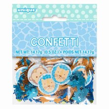 Blue Safari 1st Birthday Confetti, medium