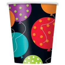 9oz Paper Birthday Cheer Cups, 8ct