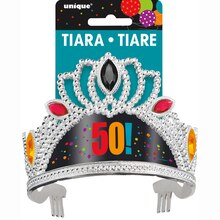 Birthday Cheer 50th Birthday Tiara