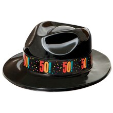 Birthday Cheer 50th Birthday Gangster Hat