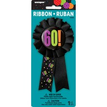Birthday Cheer 60th Birthday Award Ribbon